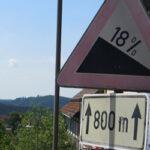 Cykling i Harzen på racercykel