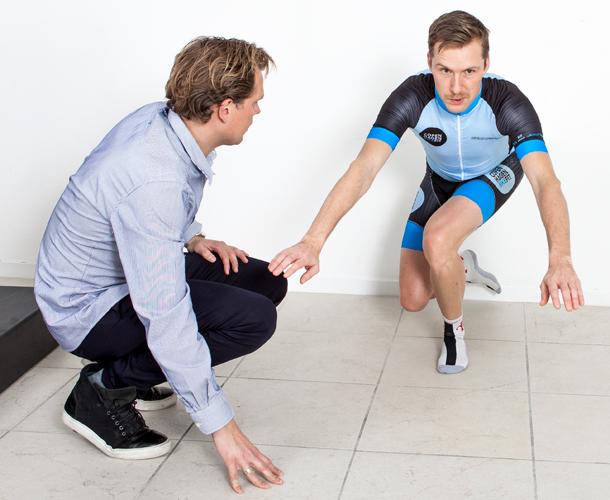 Når du skal bikefittes hos Copenhagen Bike Fit
