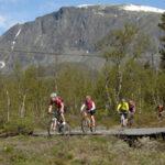 På mountainbike i Norge