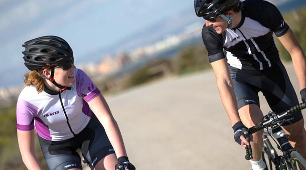Team cykeltøj med logo