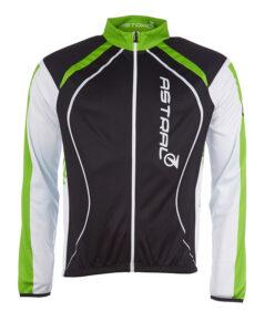 astral-cykeltroeje-lange-aermer-sort-groen-hvid