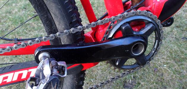 Cykel knirker mountainbike