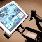 Hometrainer: Ipad holder til cyklen