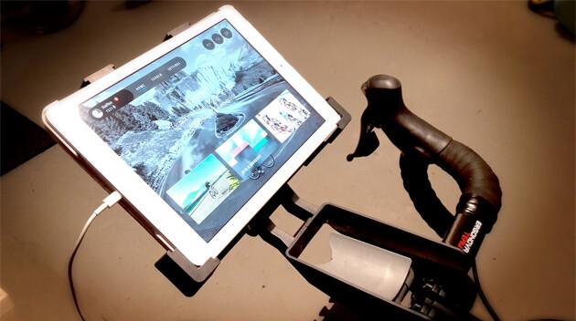 Ipad holder til cykel