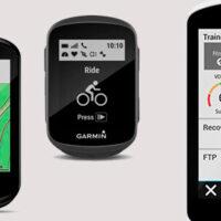 Billede af 3 Garmin cykelcomputere med GPS