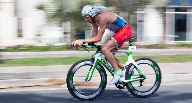 Aerodynamikken er i fokus på en tri-cykel