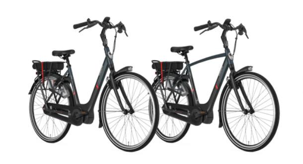 Gazelle elcykel herre og dame model