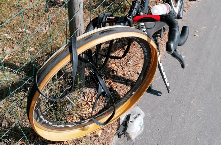 Undgå punkterin på racercykel
